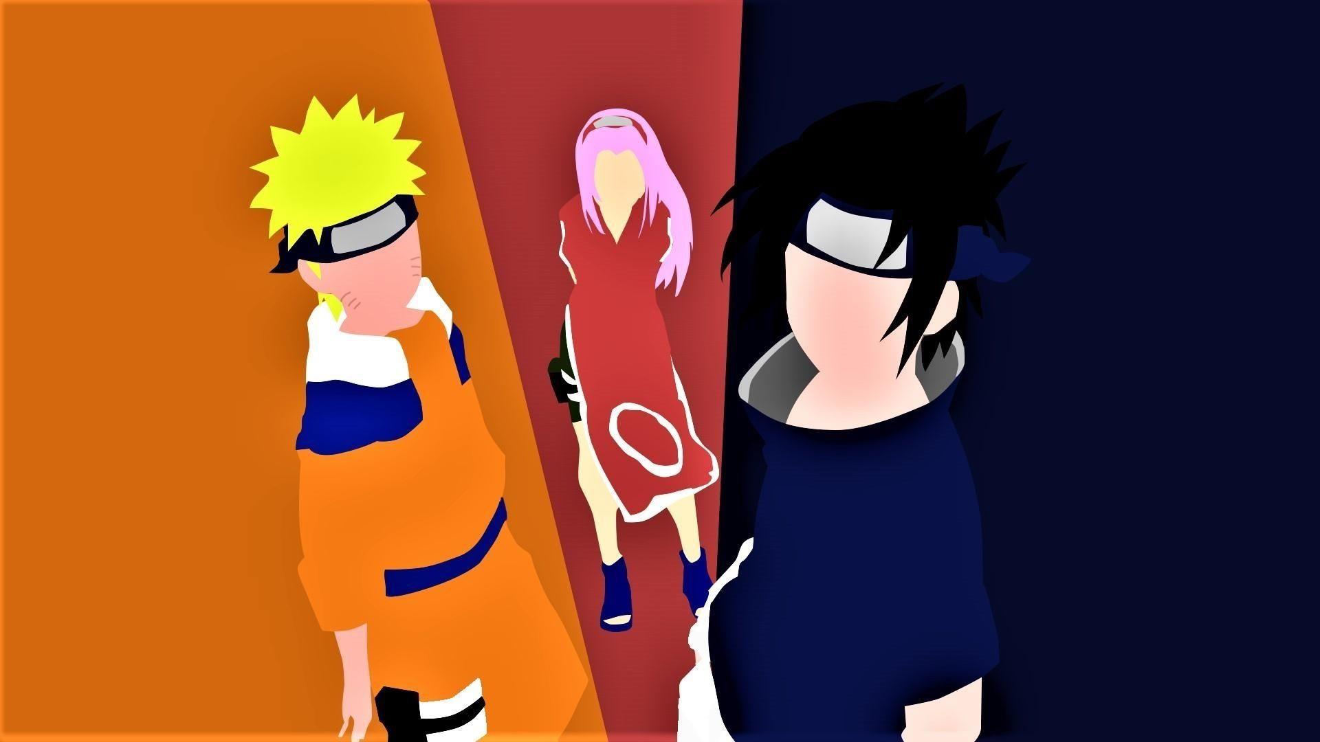 Naruto Minimalist Hd, Background Wallpaper HD