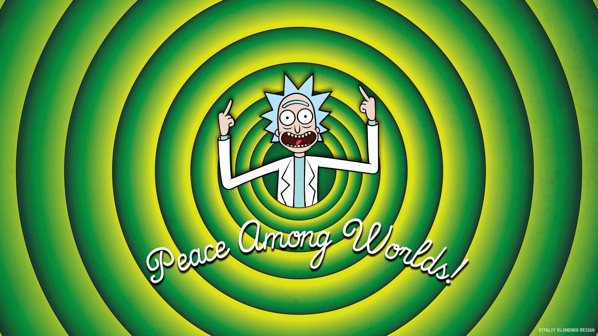 Rick and Morty Portal wallpaper