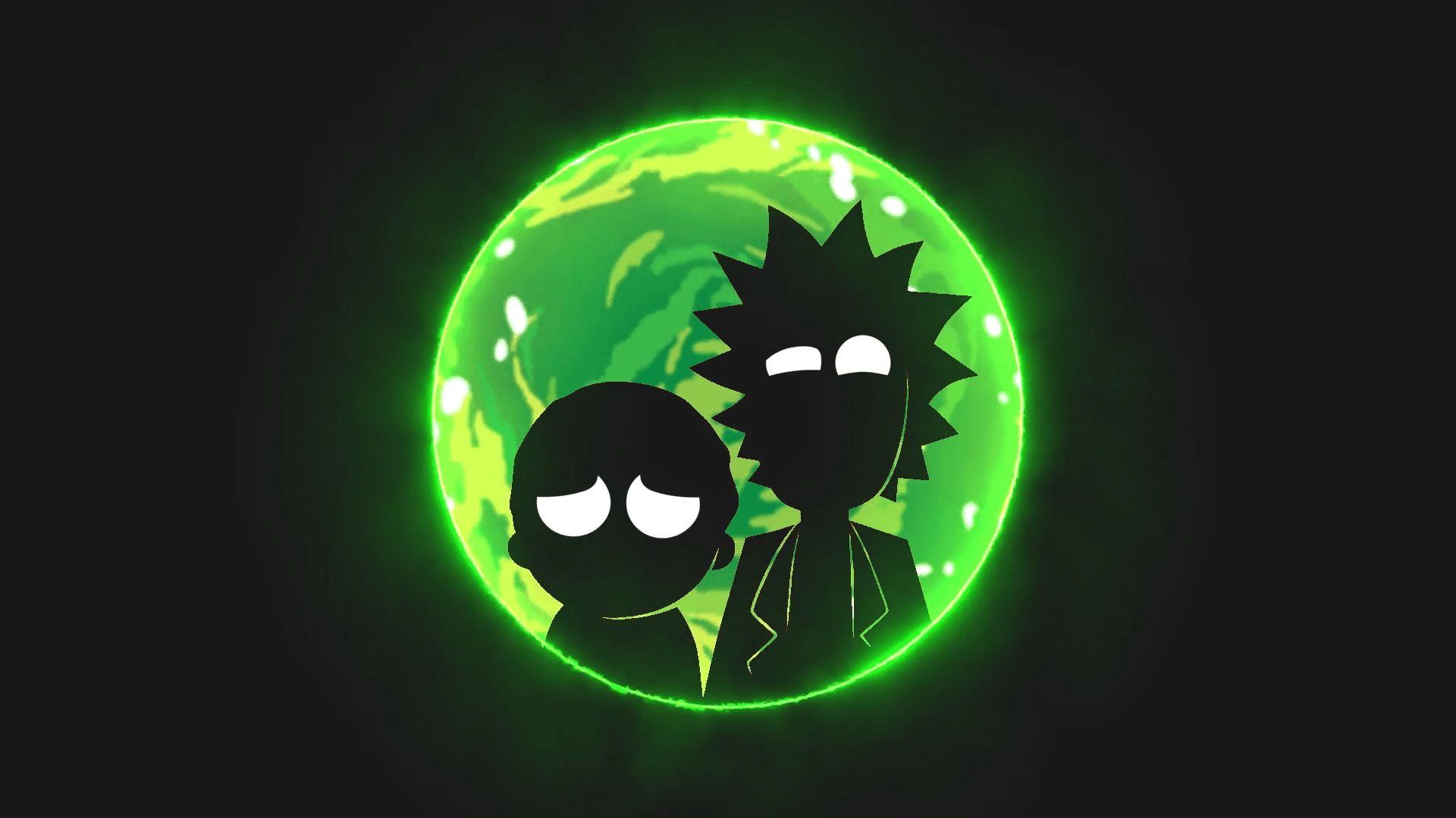 Rick and Morty hd Portal wallpaper