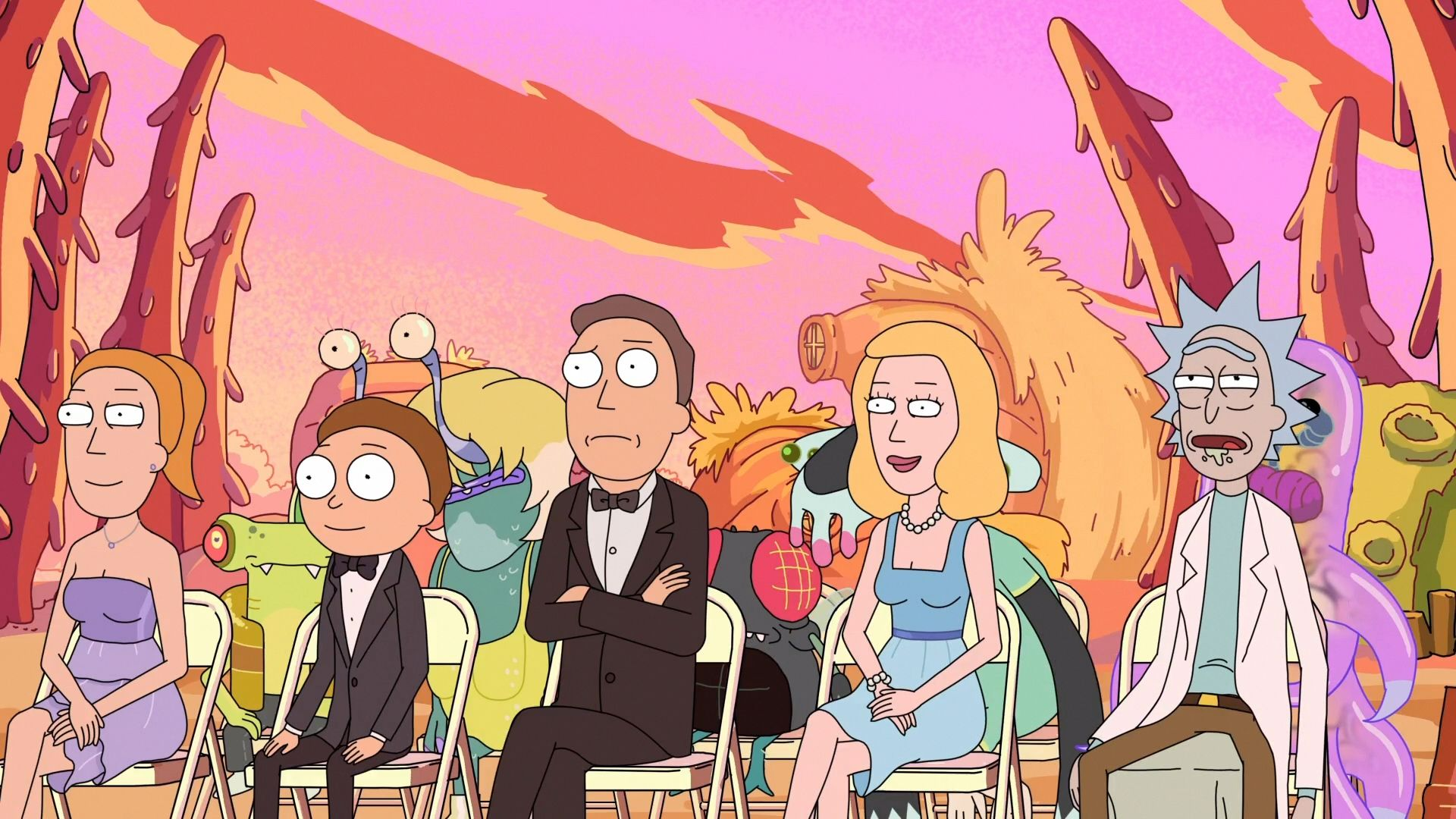 Rick and Morty high wallpaper