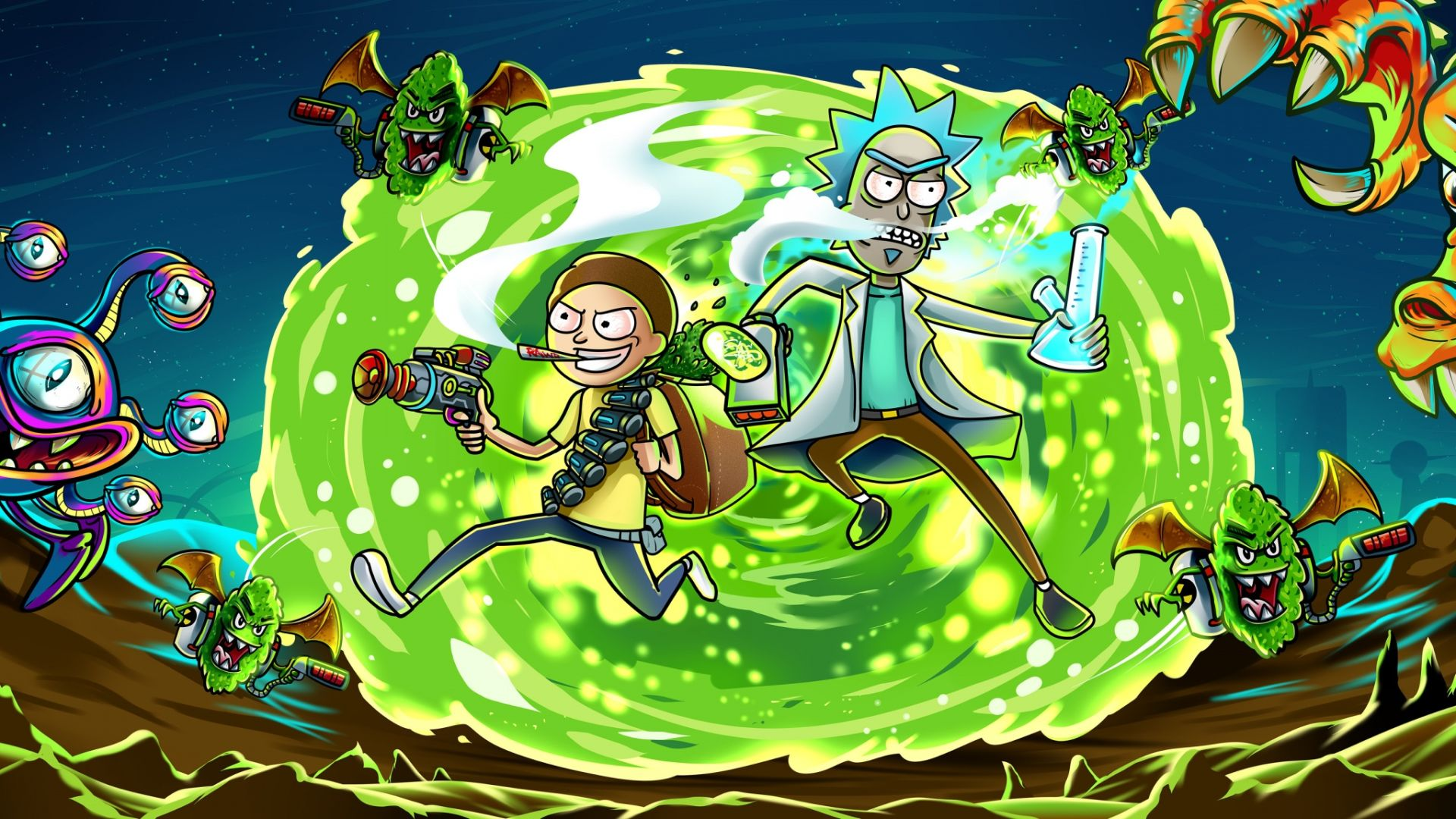 60 Rick and Morty Wallpapers