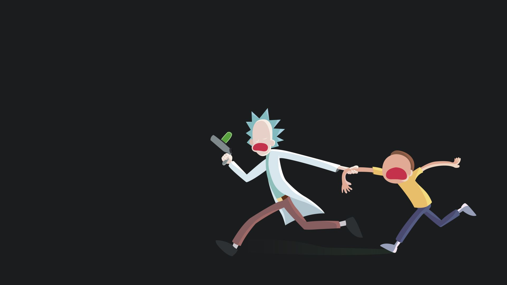 high quality Rick and Morty wallpaper