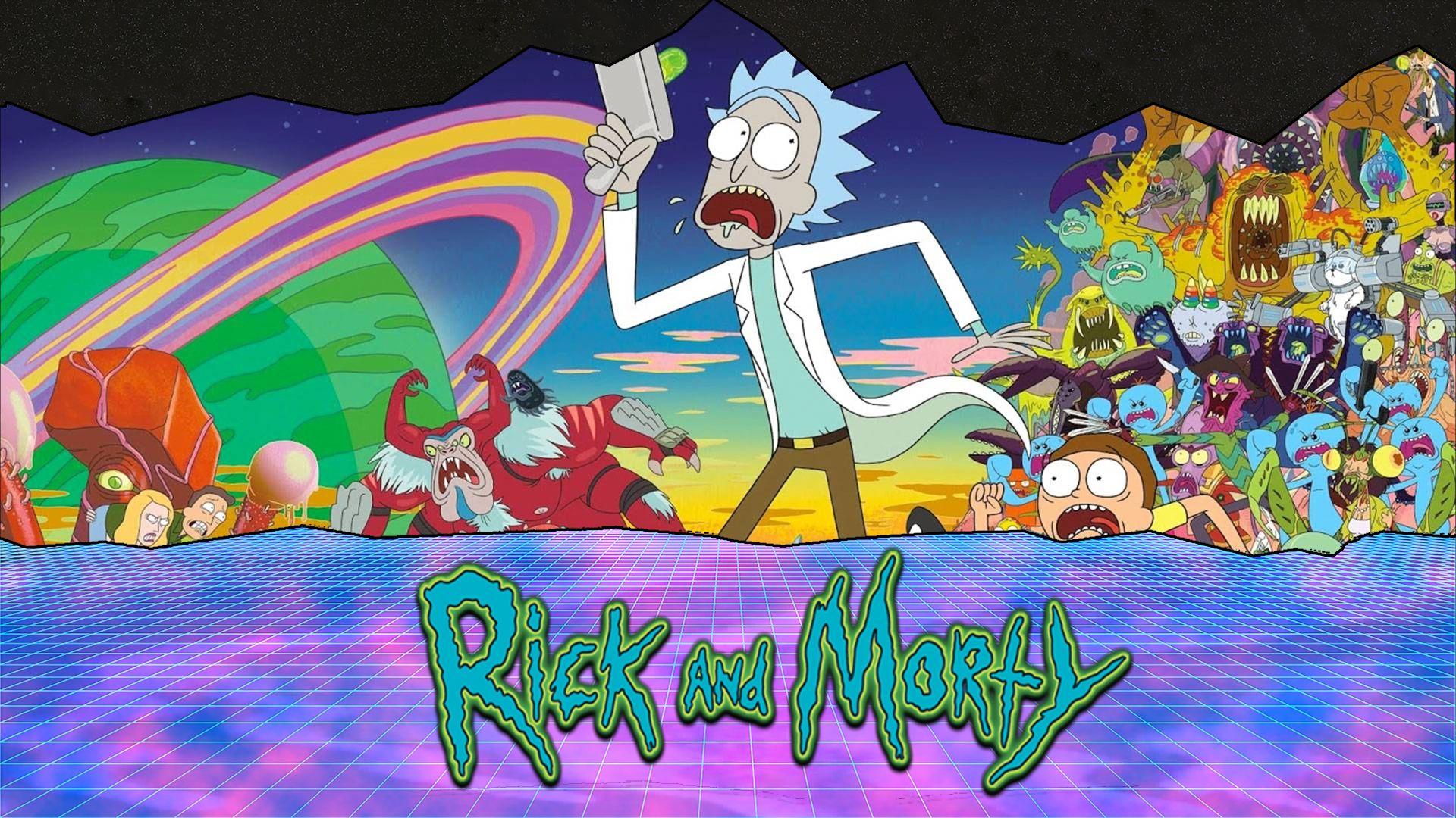 Rick and Morty hd wallpaper