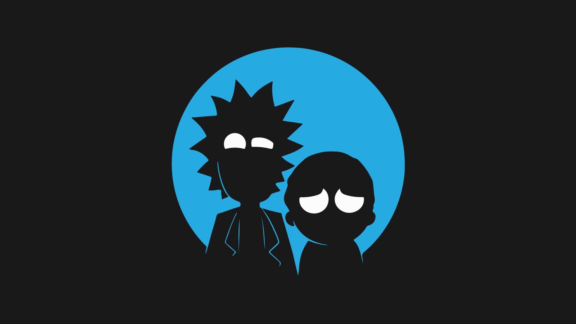 wallpaper Rick and Morty