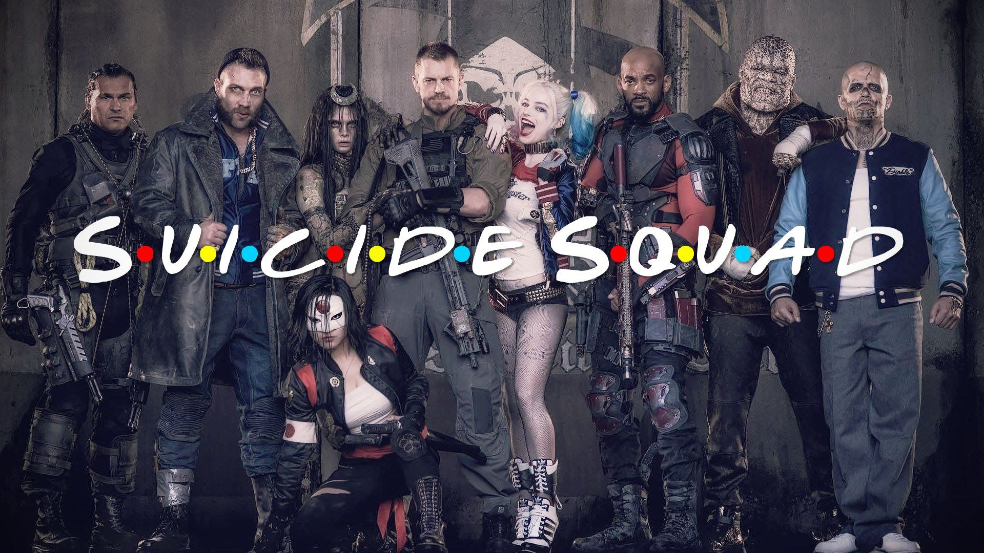 Suicide Squad, Cool HD Wallpaper