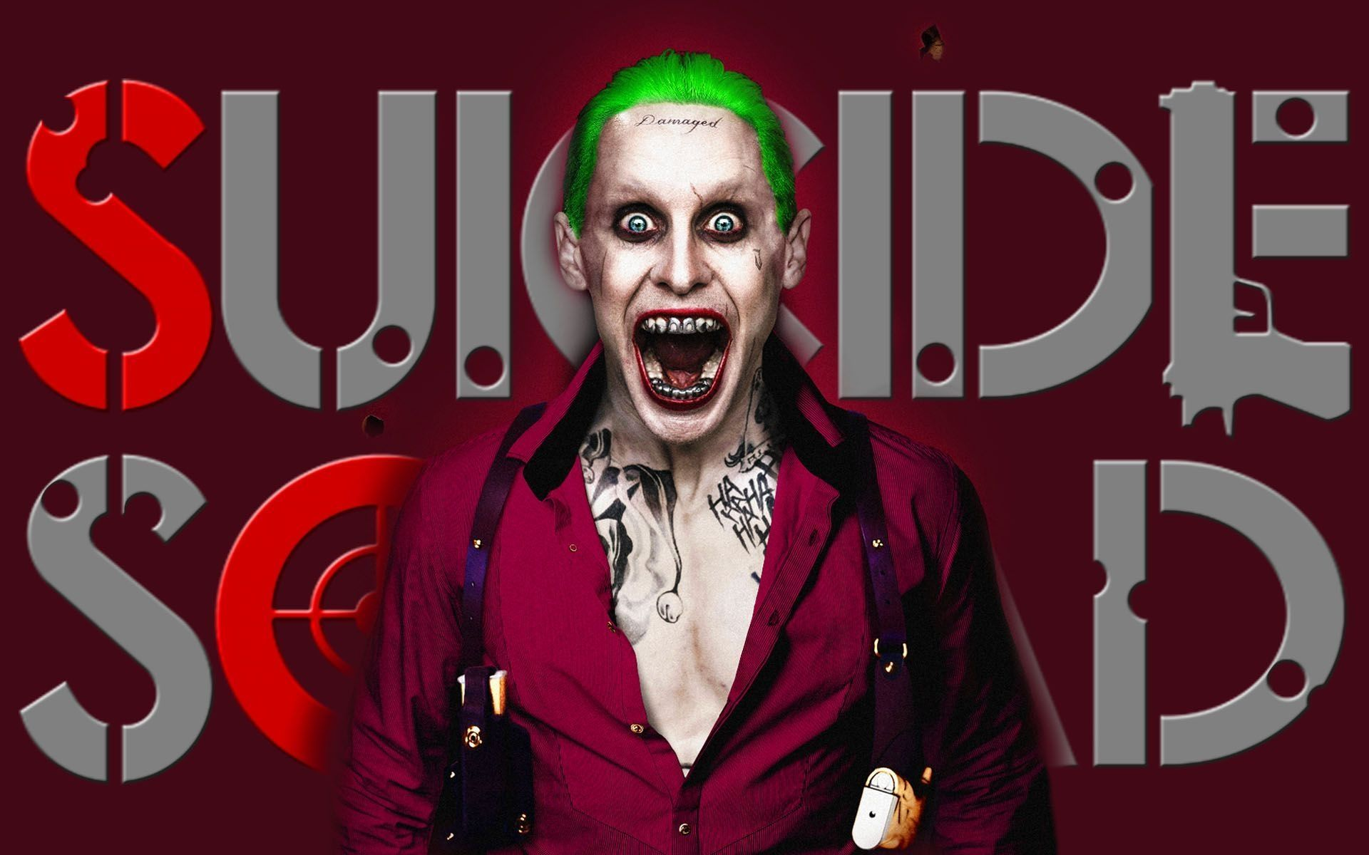 Suicide Squad, Joker HD Wallpaper 1080
