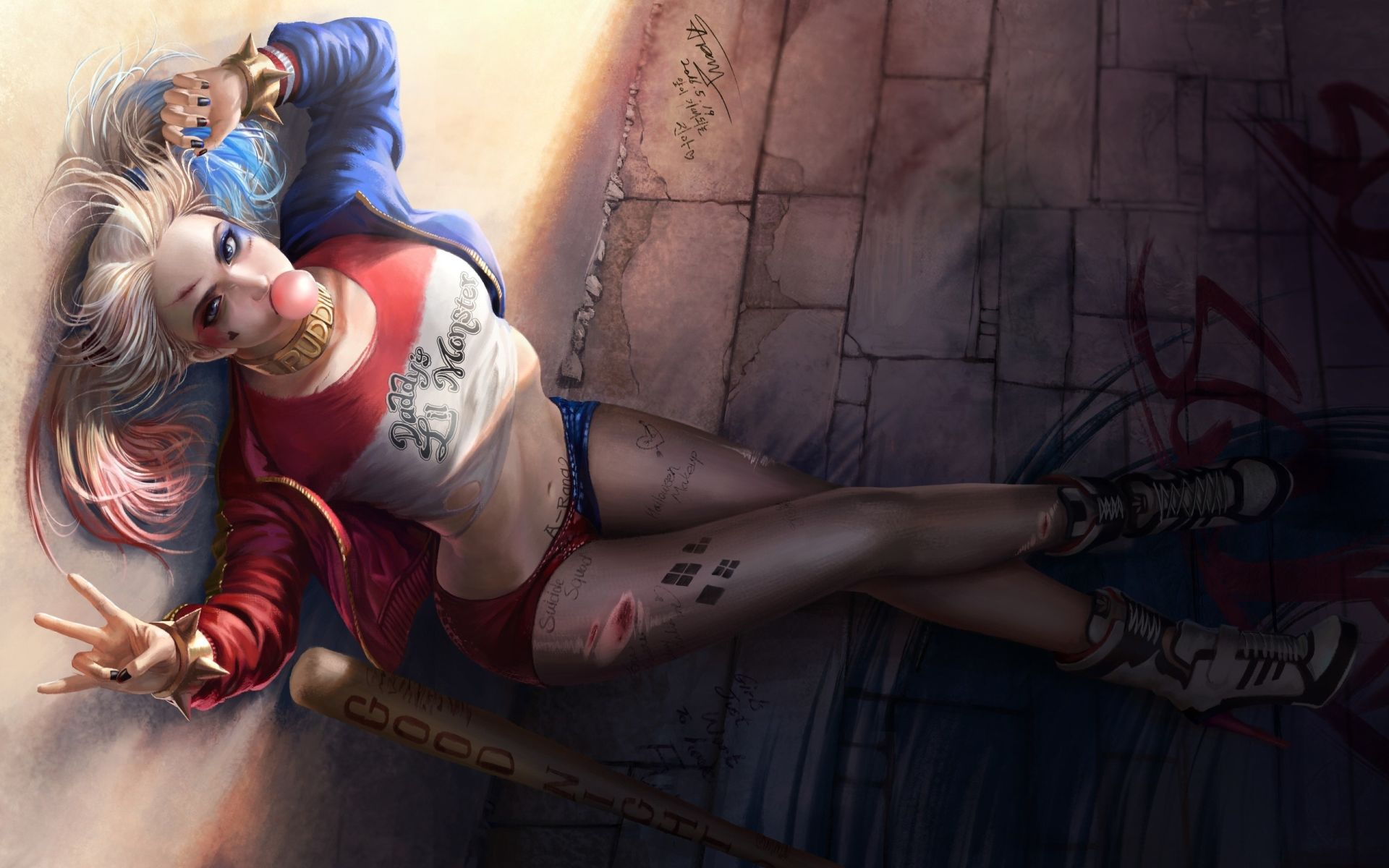 Suicide Squad Harley Quinn, Background