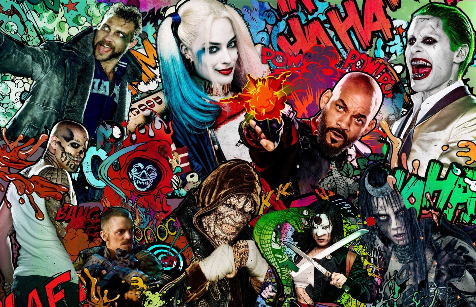 Suicide Squad, 1080p Wallpaper