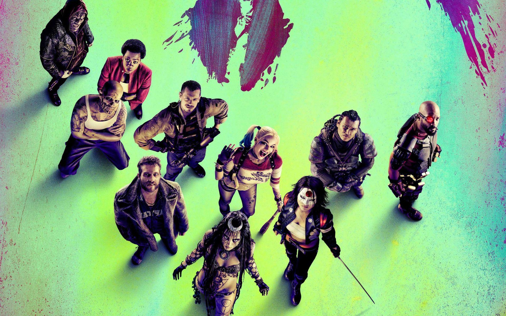 Suicide Squad, PC Wallpaper