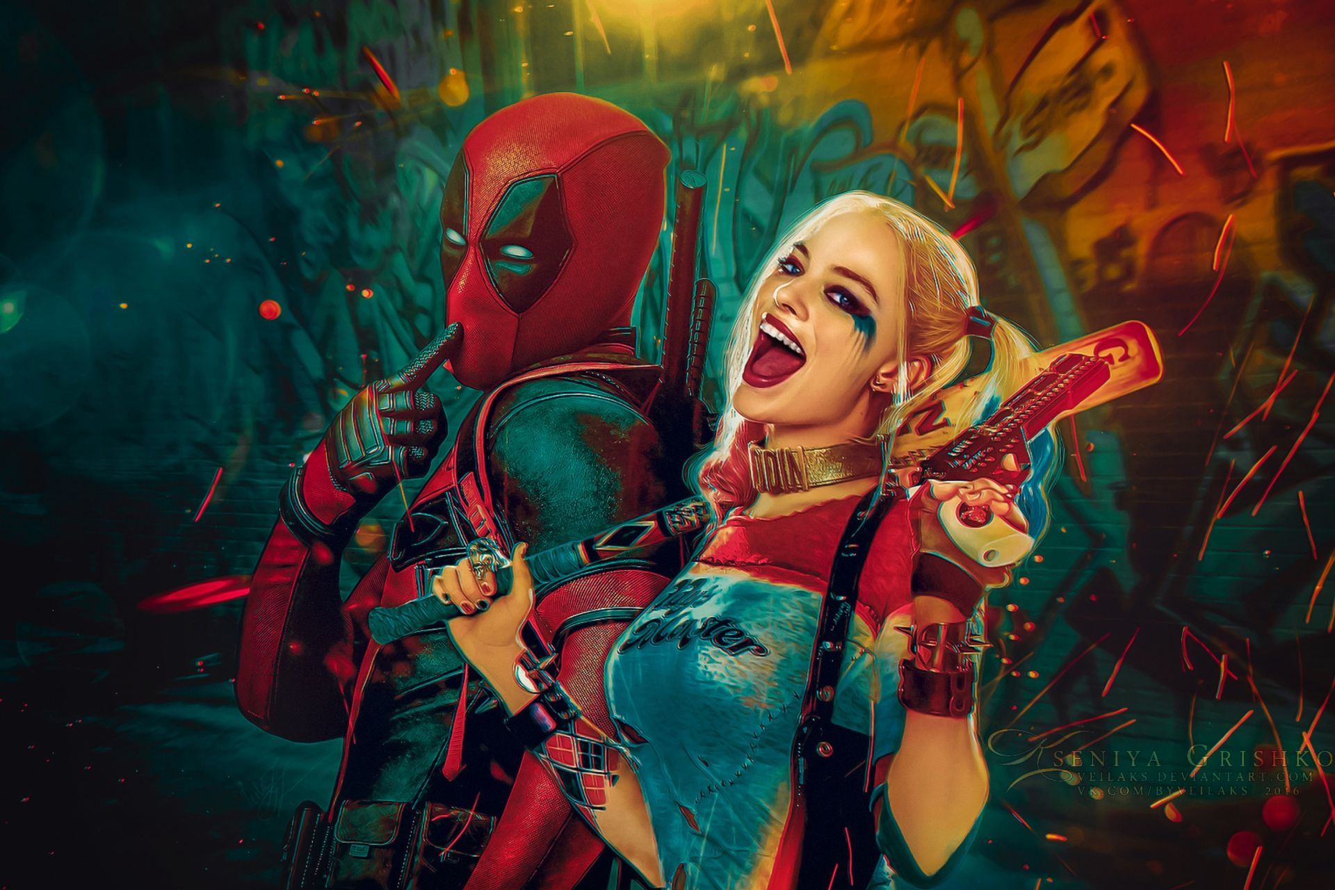 Suicide Squad Harley Quinn, Nice Wallpaper