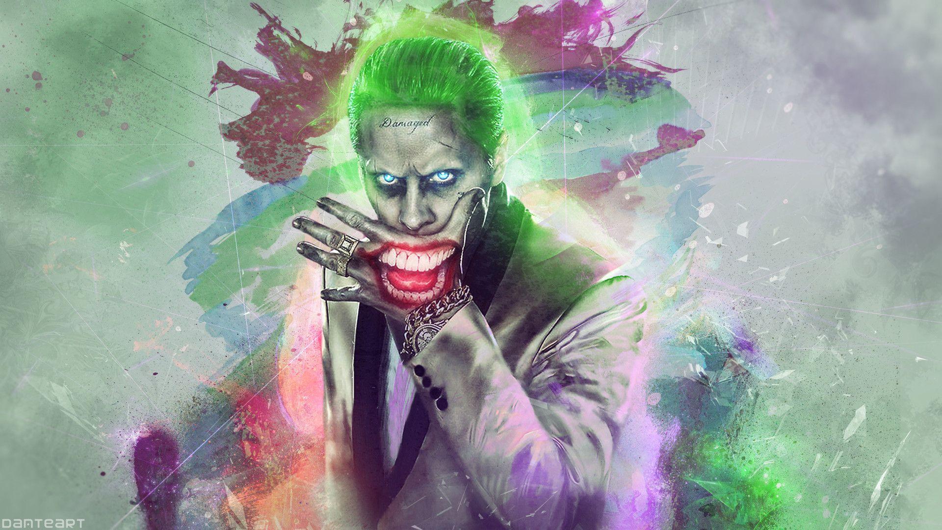 Suicide Squad, Joker Art Picture