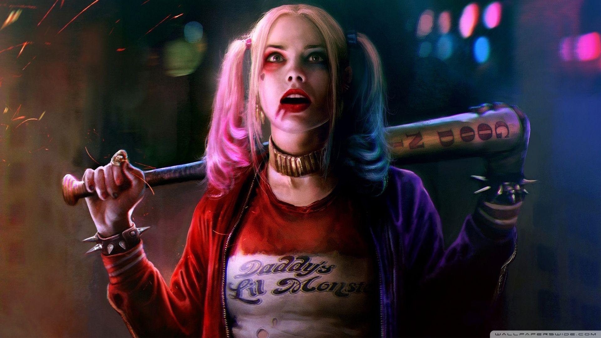 Suicide Squad Harley Quinn, Desktop Wallpaper