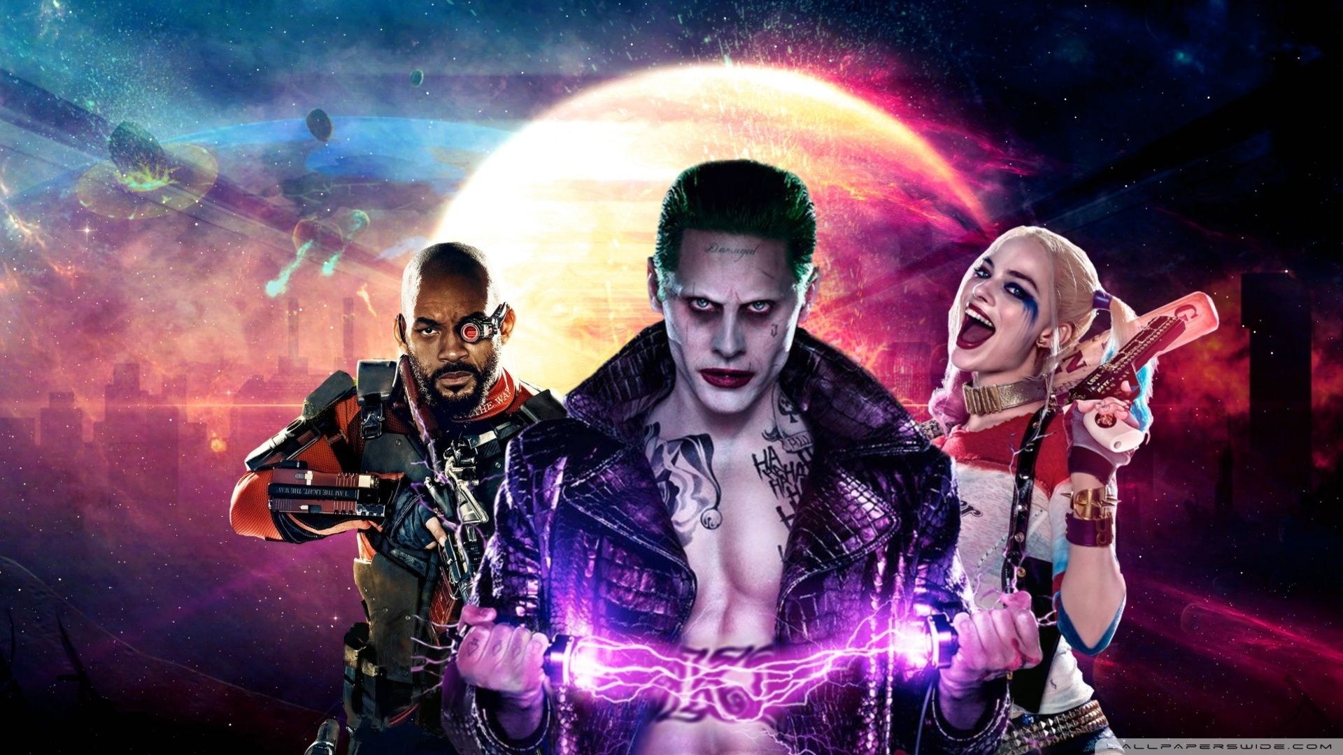 Suicide Squad, Background Wallpaper HD