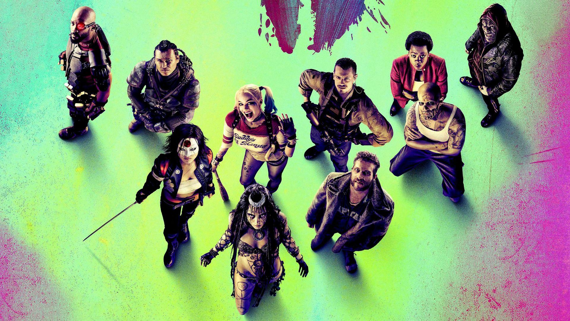 Suicide Squad, Computer Wallpaper