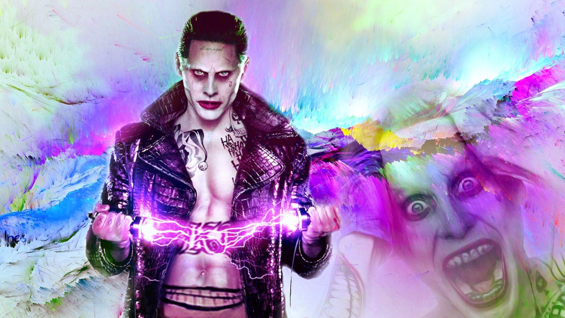 Suicide Squad Joker, Background Wallpaper