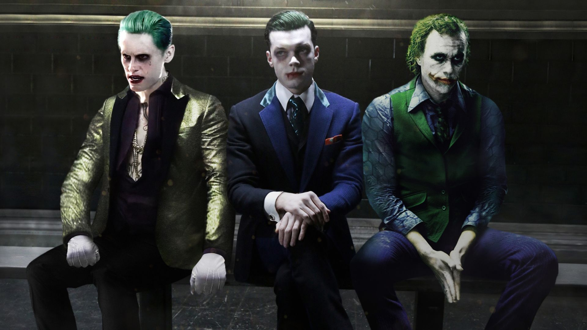 Suicide Squad Joker, Wallpaper and Background