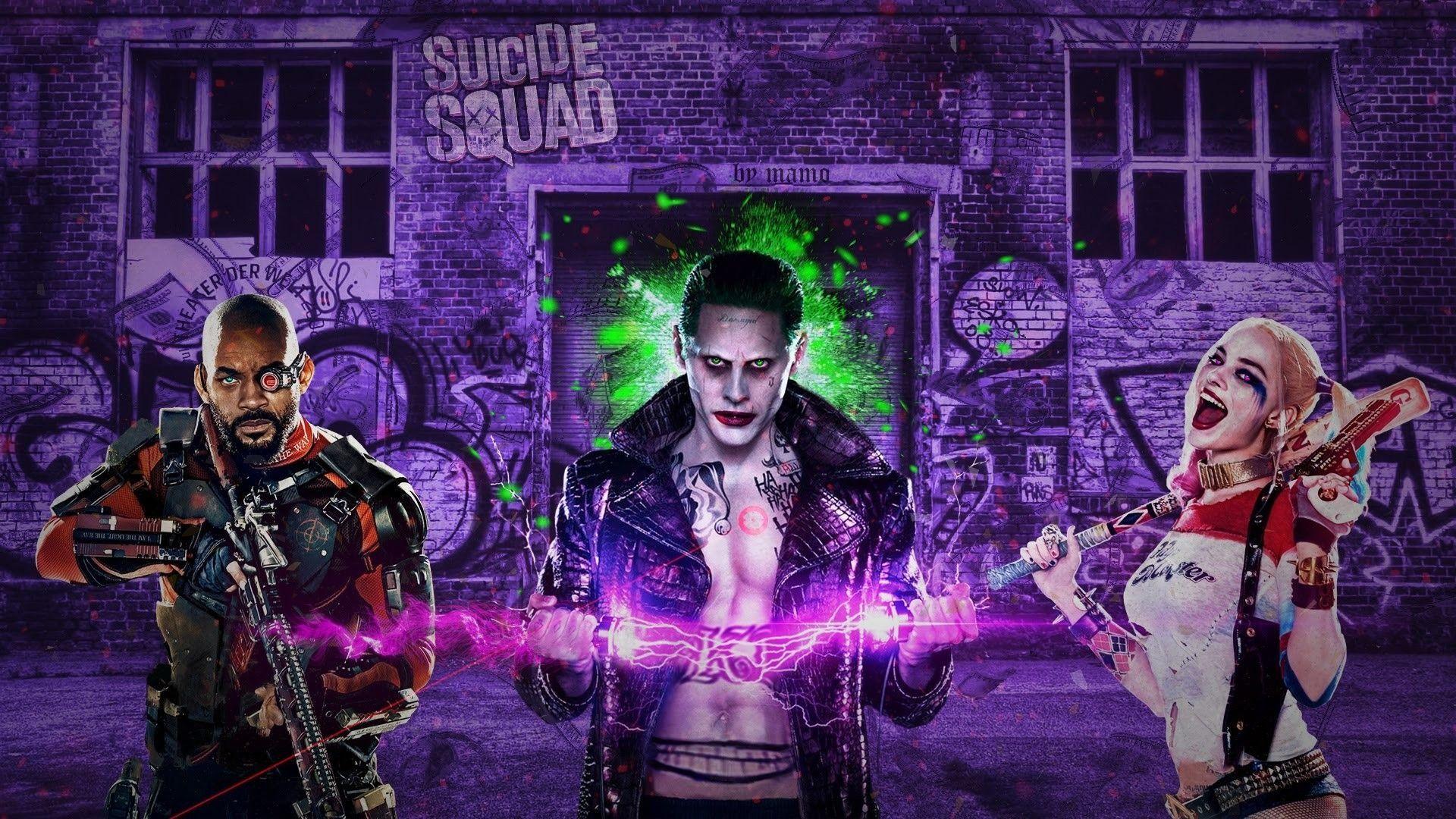 Suicide Squad Joker, Cool Wallpaper