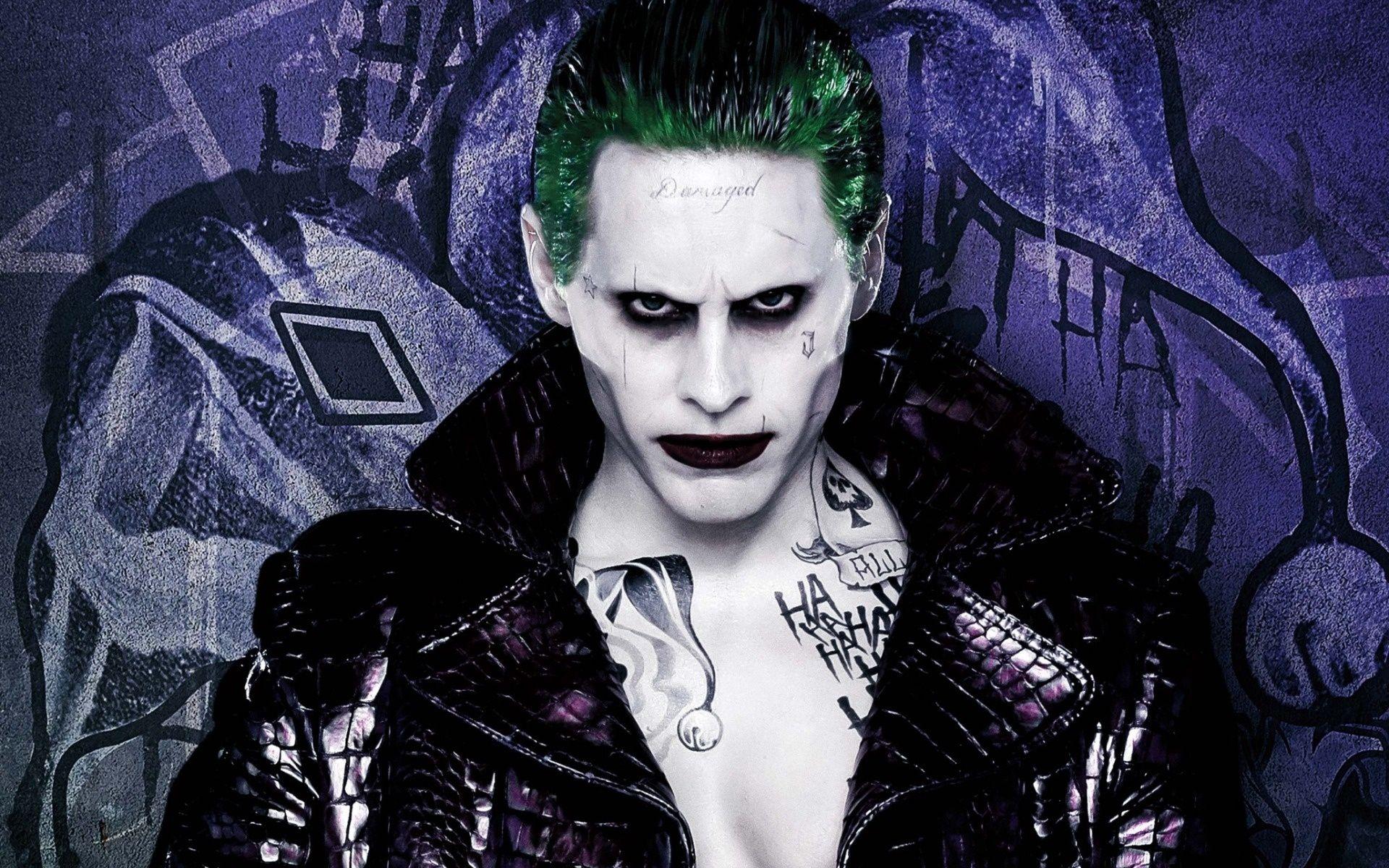 Suicide Squad, Joker, Background Wallpaper