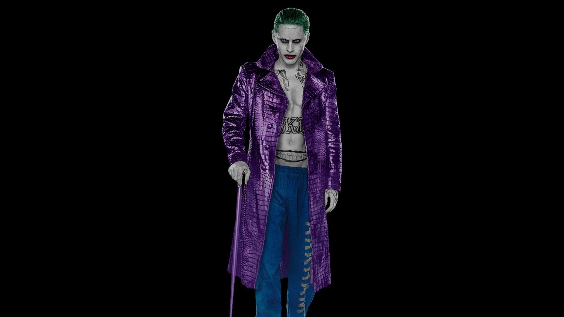 Suicide Squad, Joker Background Wallpaper