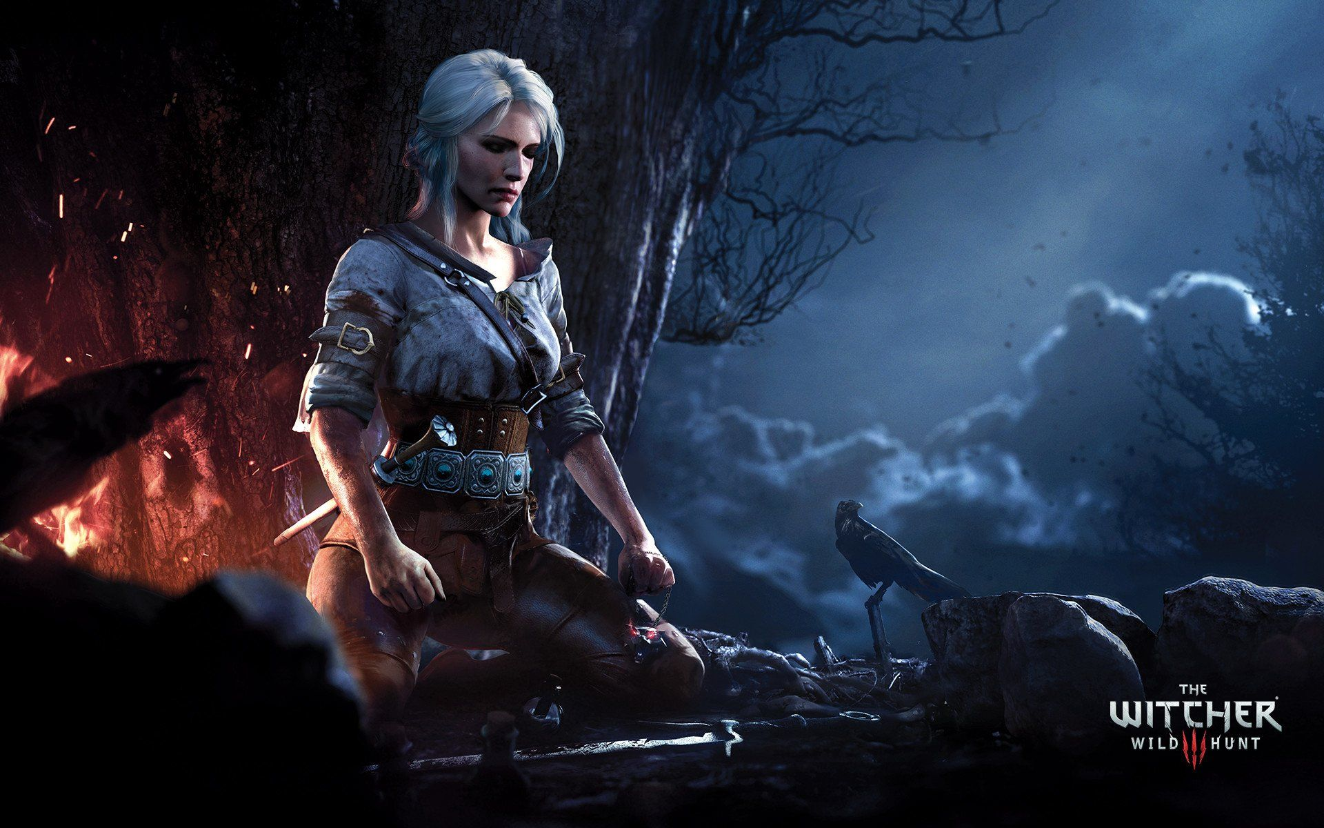 The Witcher Ciri, Background Wallpaper HD