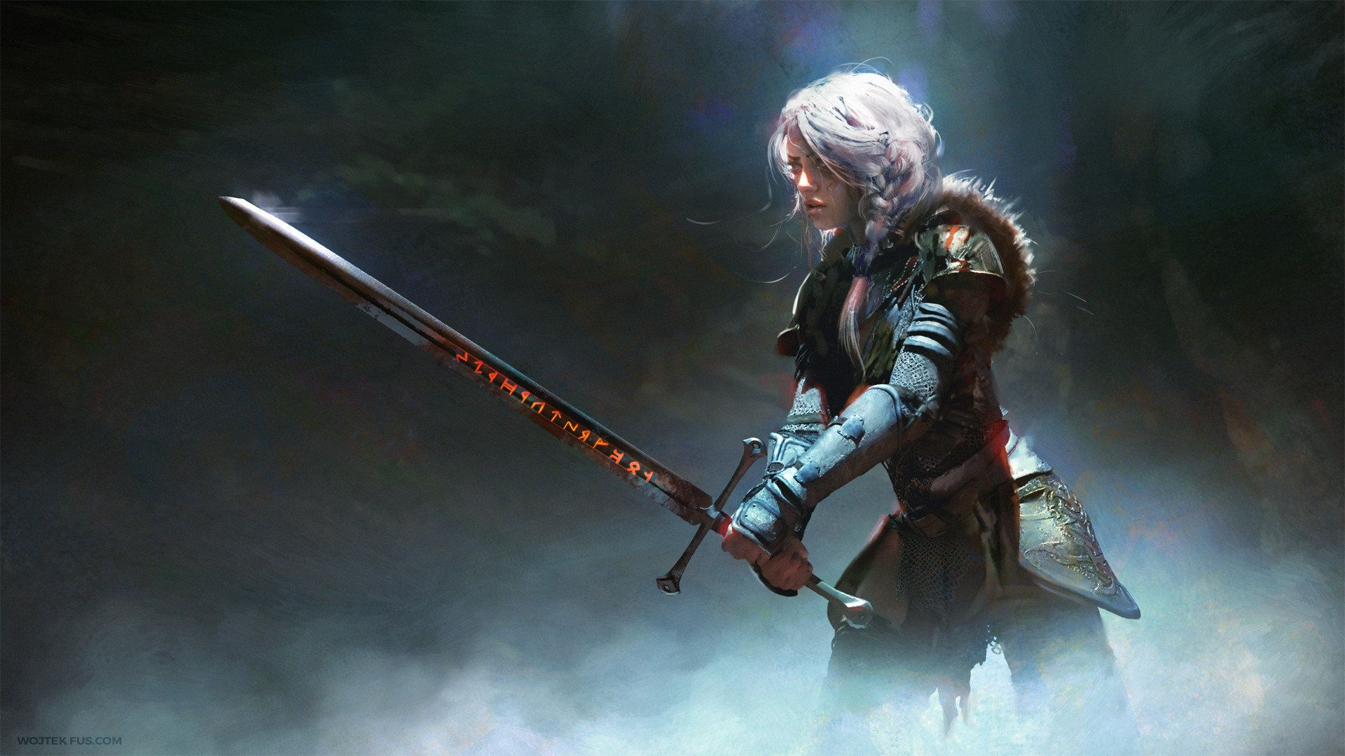 The Witcher Ciri, Nice Wallpaper