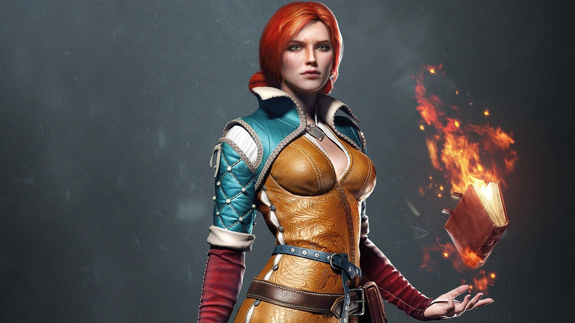 The Witcher Triss, Cool Wallpaper