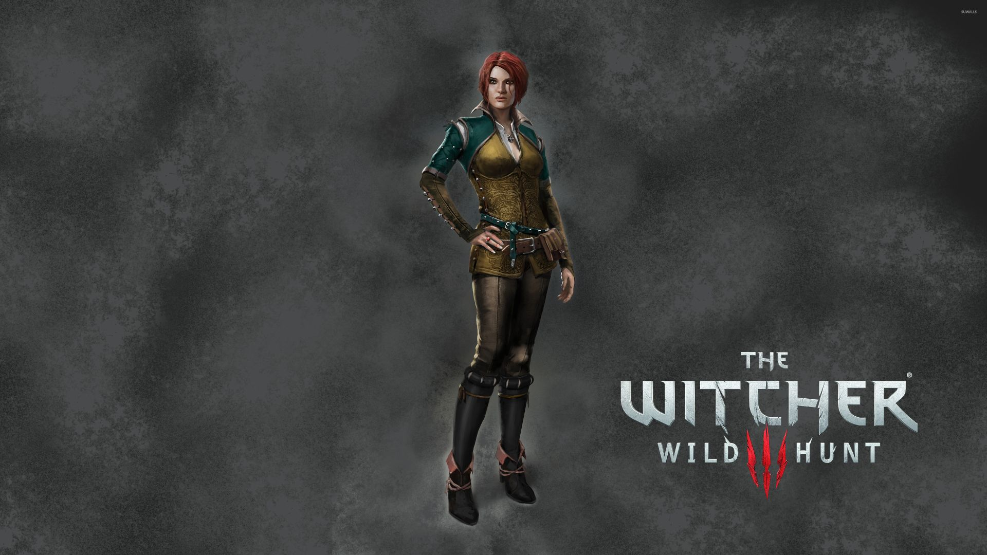 The Witcher Triss, Desktop Wallpaper
