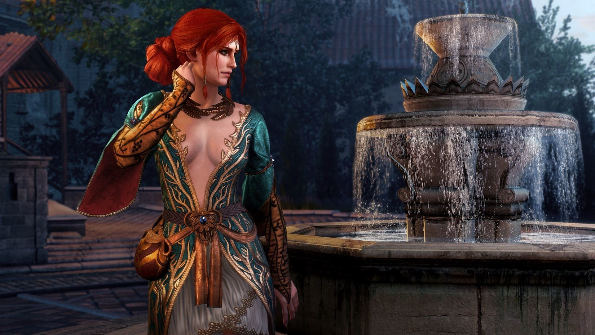 The Witcher Triss, Wallpaper Image