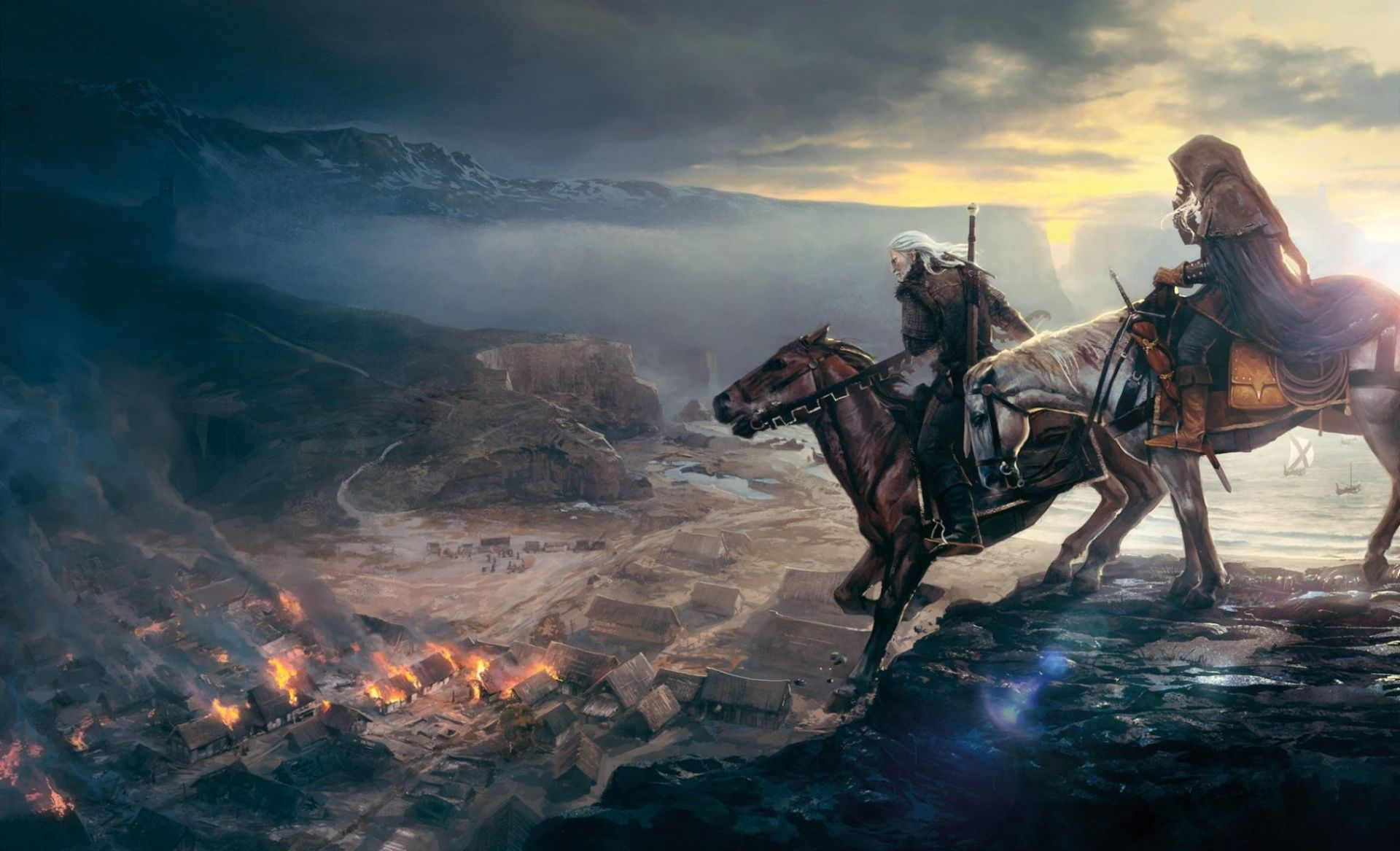 The Witcher, HD Wallpaper 1080