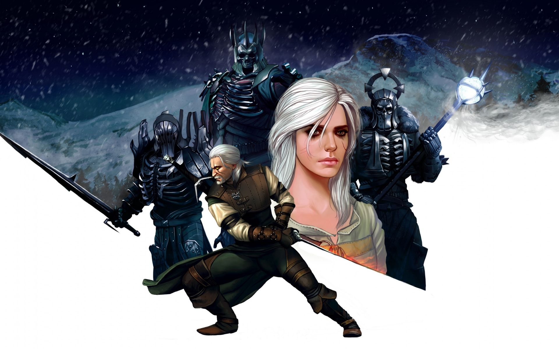 The Witcher, Cool HD Wallpaper