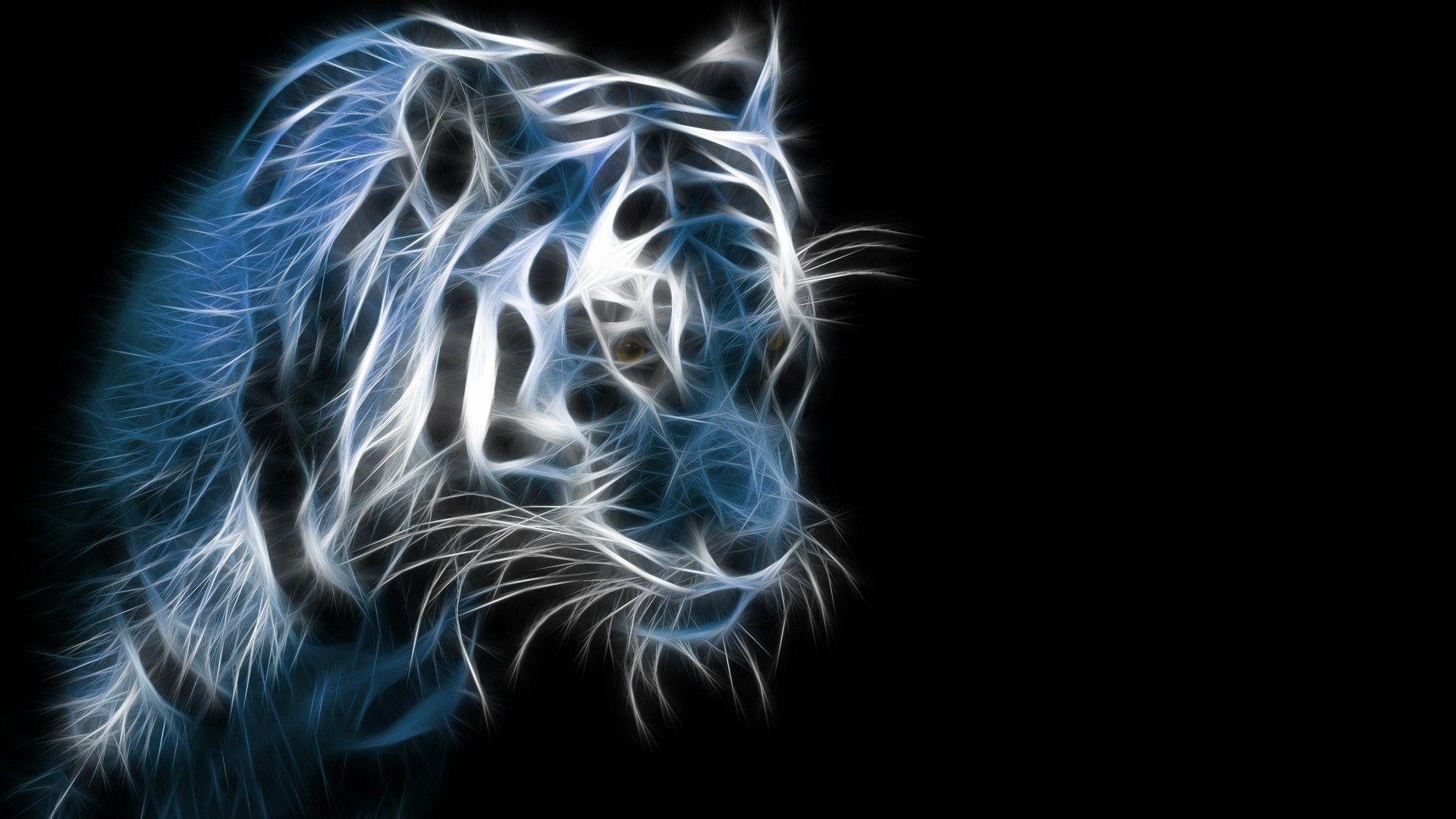 Tiger Art, Wallpaper