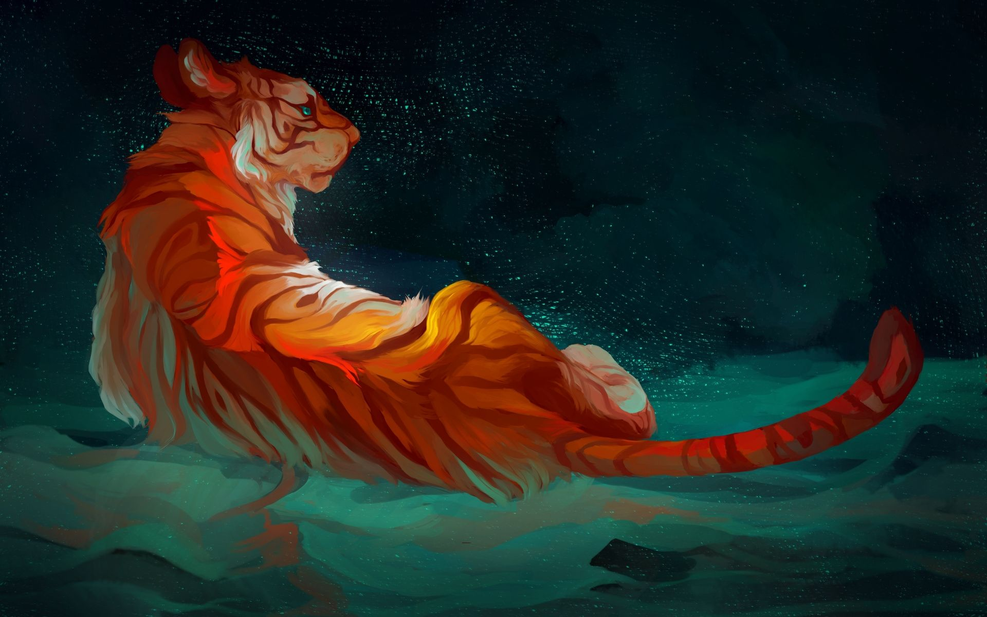 Tiger Art, Picture