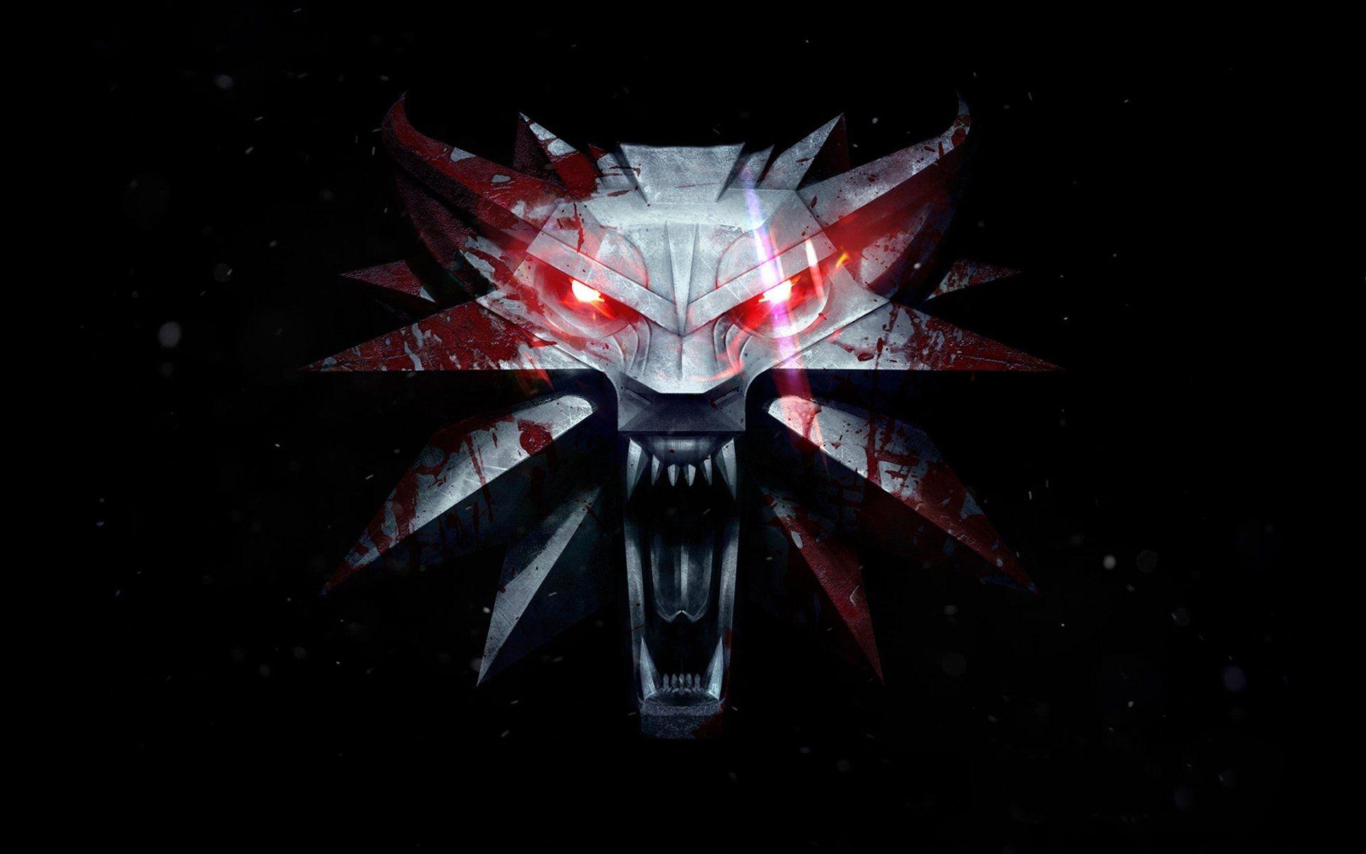 Witcher Logo Emblem, Cool HD Wallpaper