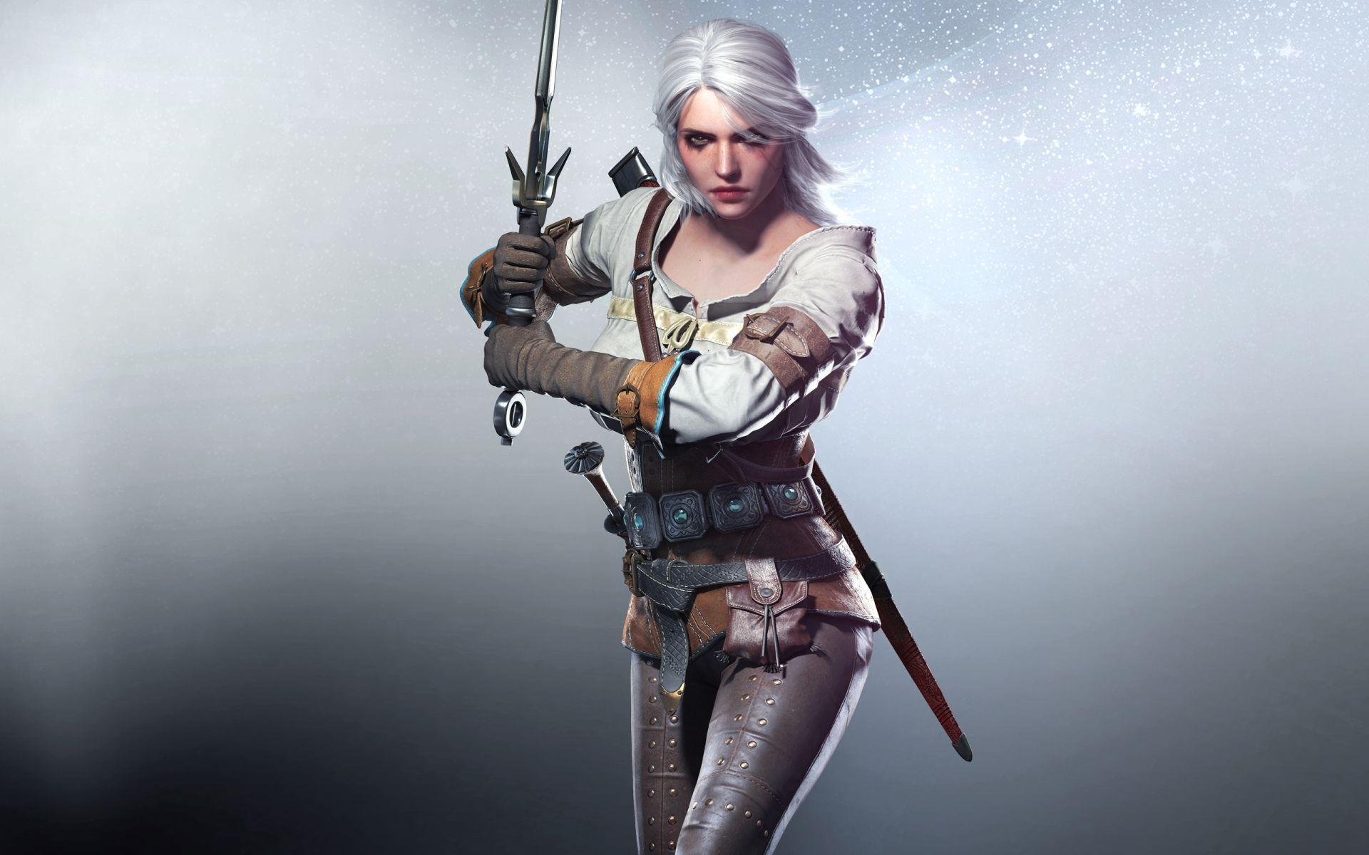 Witcher Ciri, Full HD Wallpaper