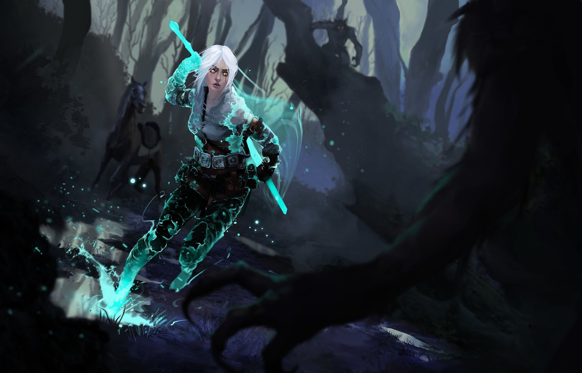 35 Witcher 3 Ciri Wallpapers Wallpaperboat