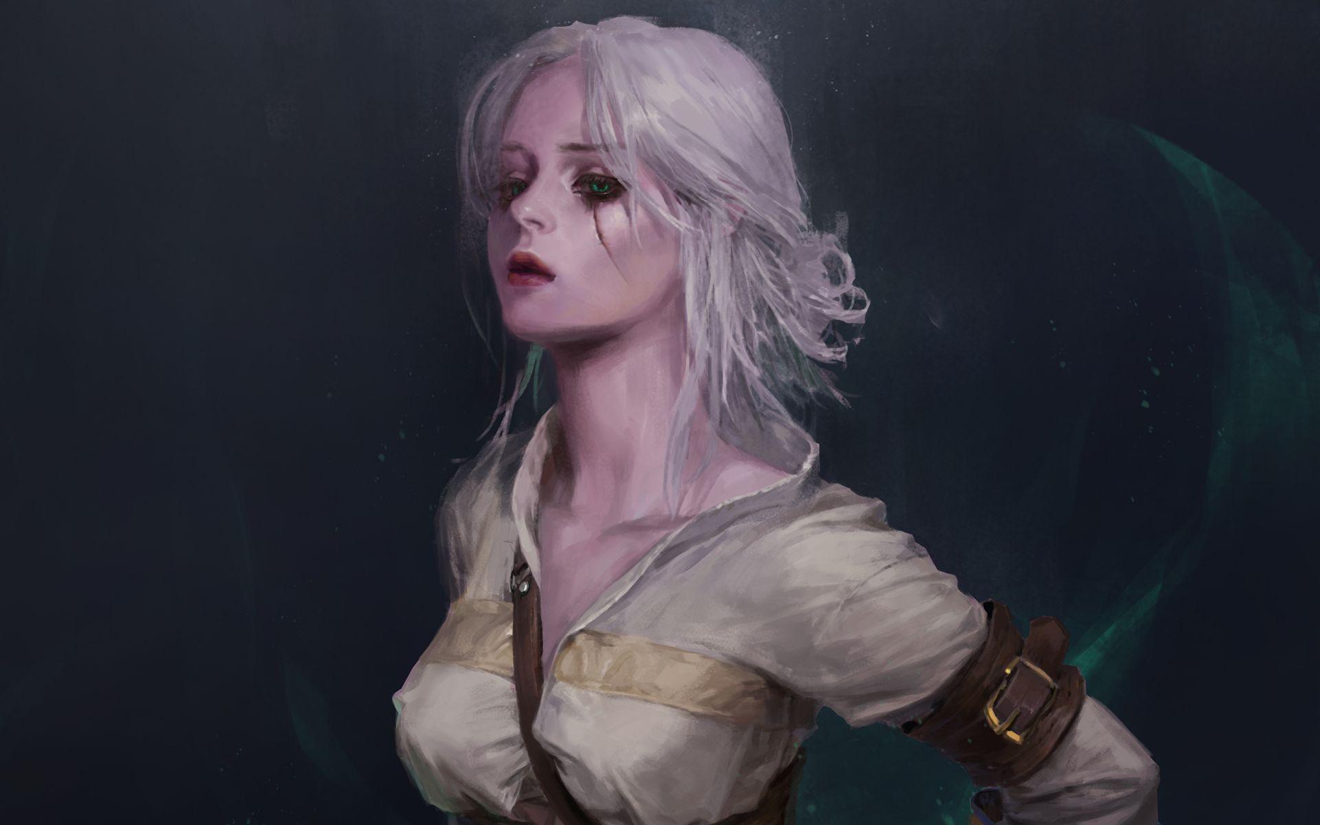 Witcher Ciri, Background Wallpaper