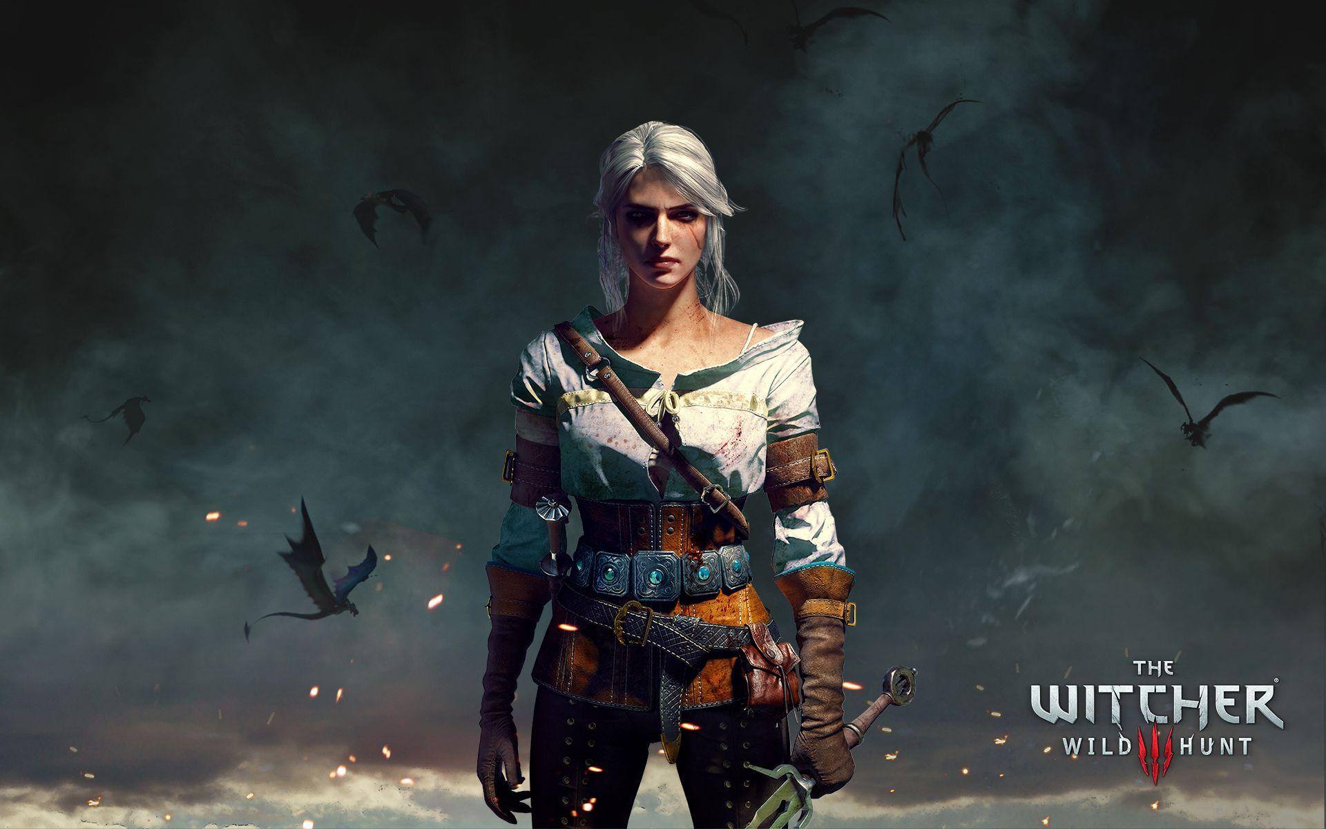 Witcher Ciri, Wallpaper