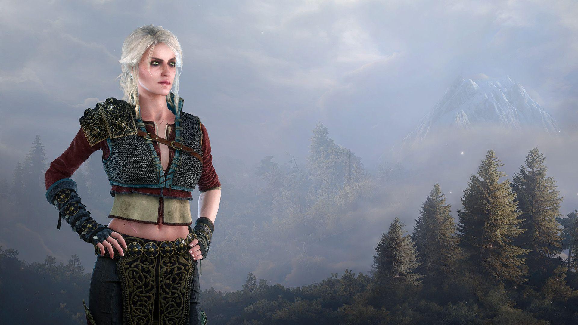Witcher Ciri, New Wallpaper