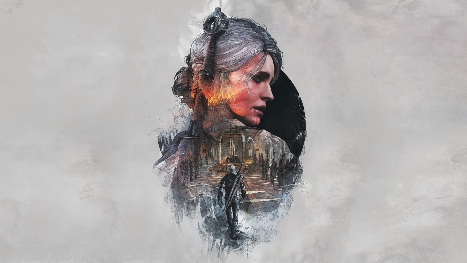Witcher Ciri art, Free Wallpaper and Background