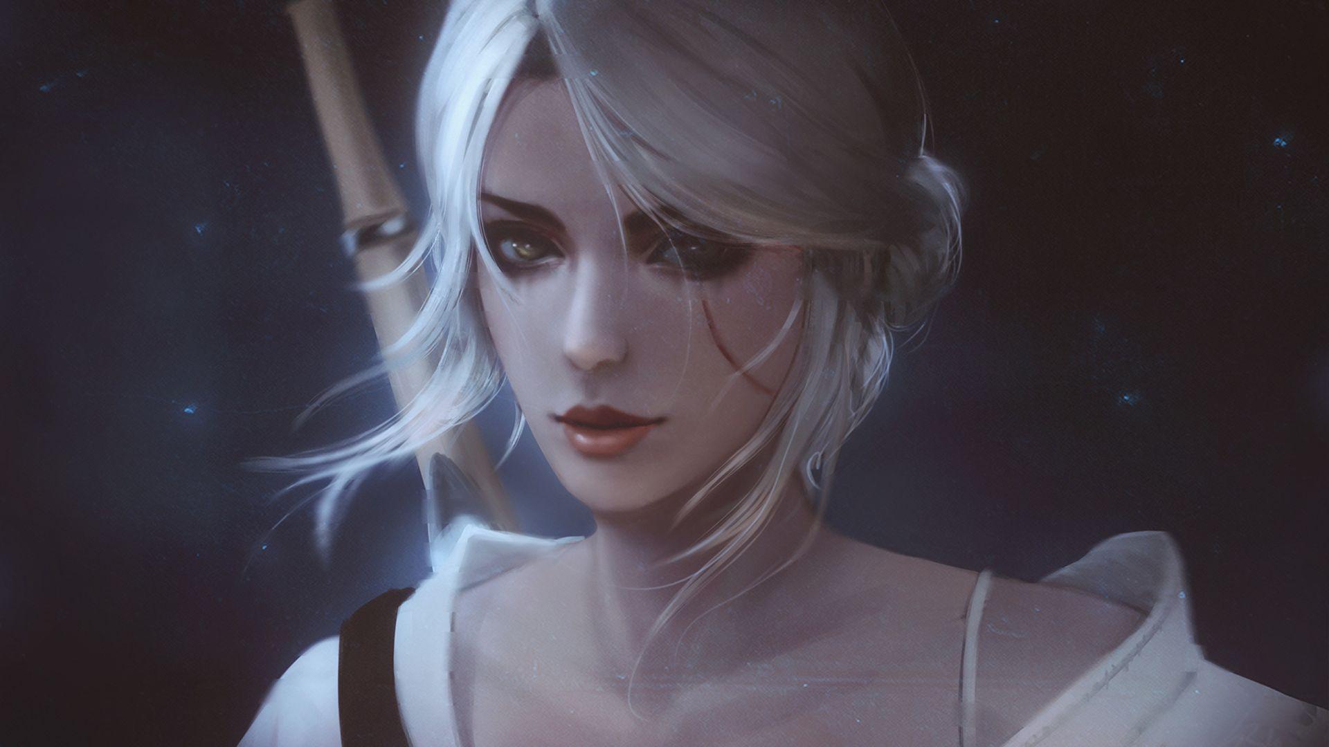 Witcher Ciri art, Image