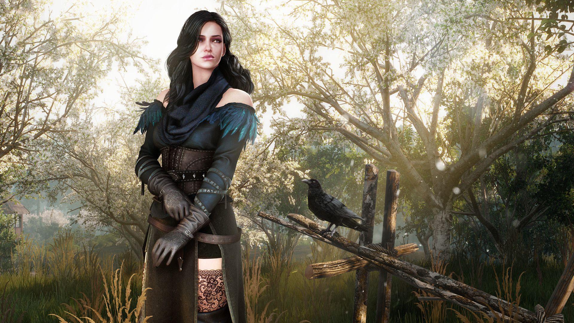 Witcher Yennefer, Wallpaper