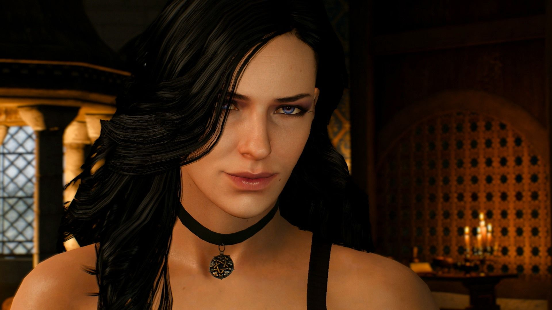 Witcher Yennefer, Wallpaper Image