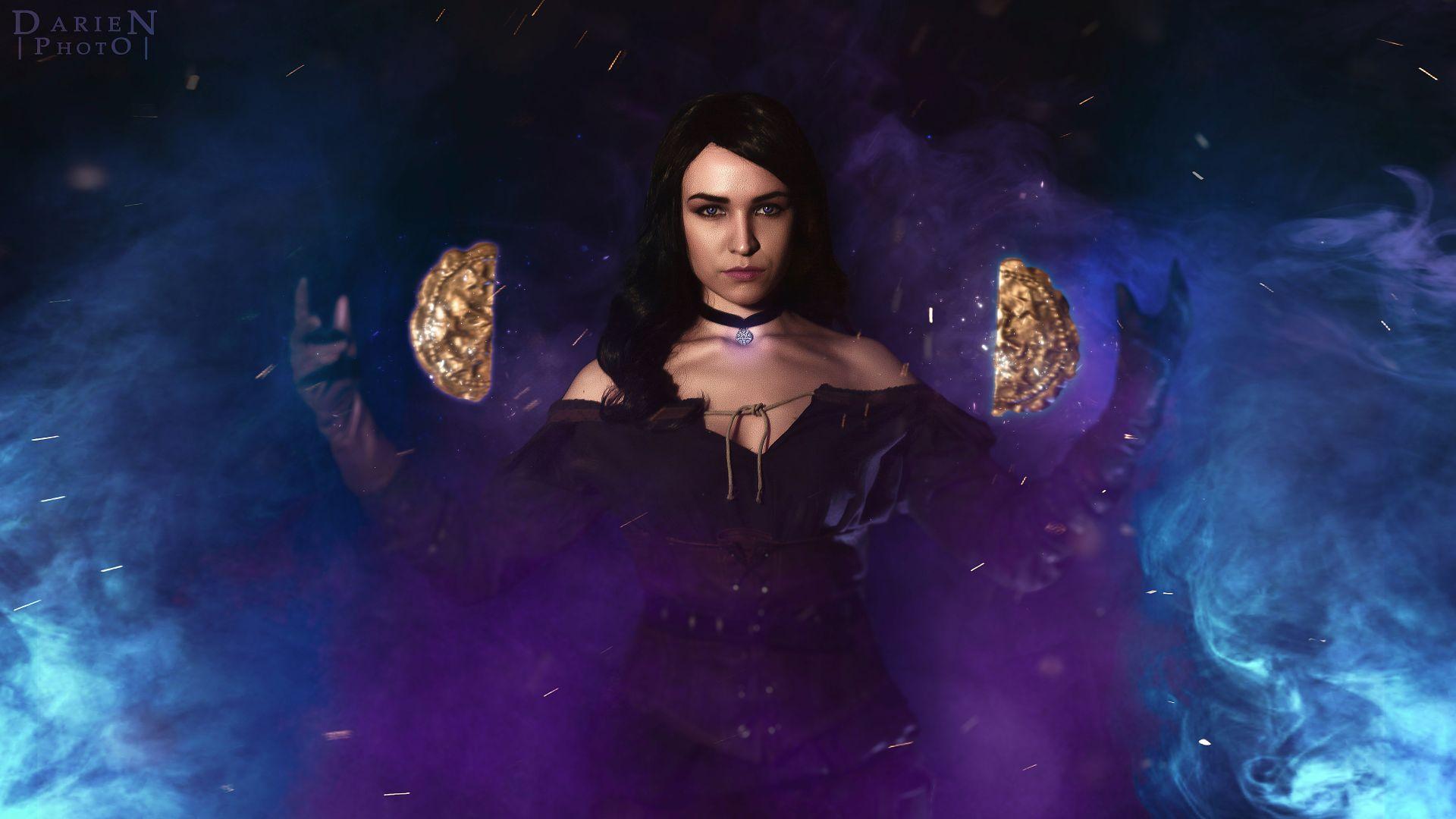 Witcher Yennefer, PC Wallpaper
