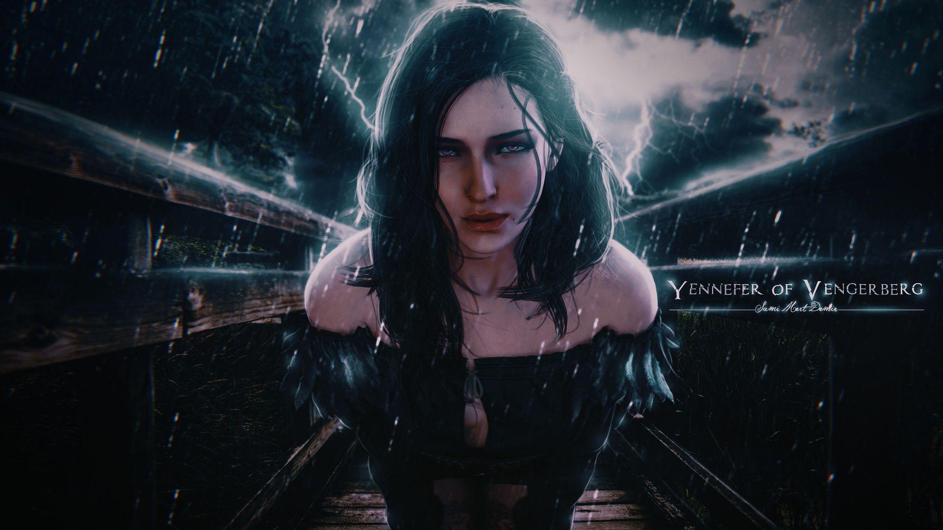 Witcher Yennefer, HD Wallpaper