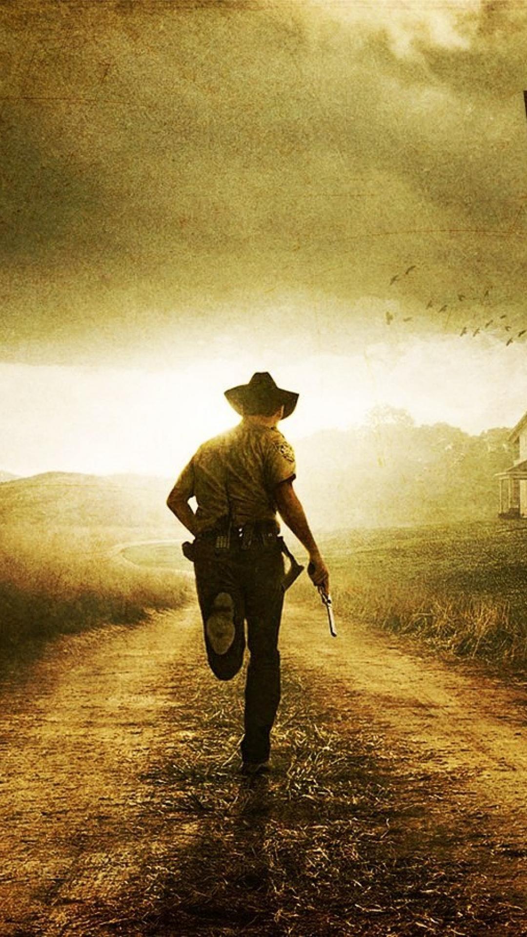 The Walking Dead Main Character Wallpaper