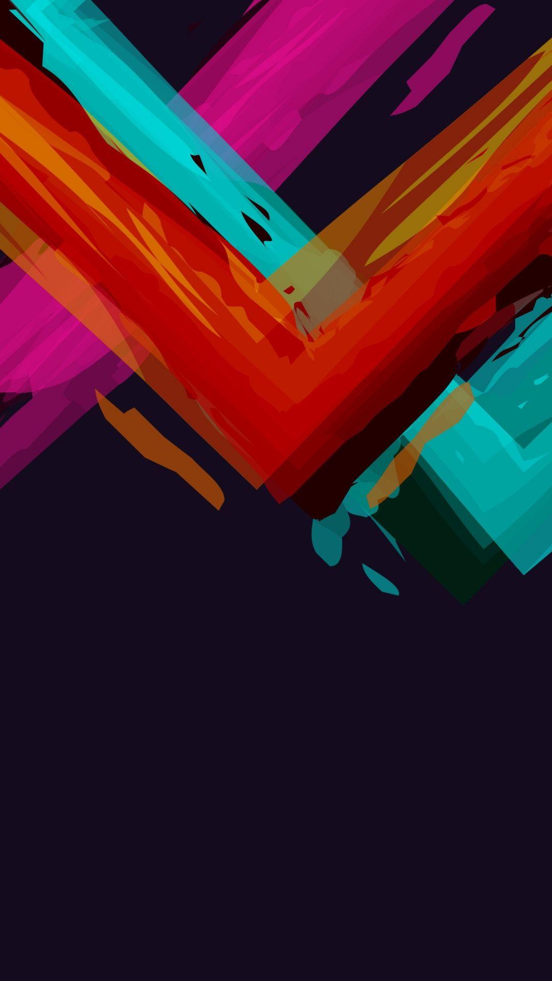 Abstract Crazy iOS 8 wallpaper