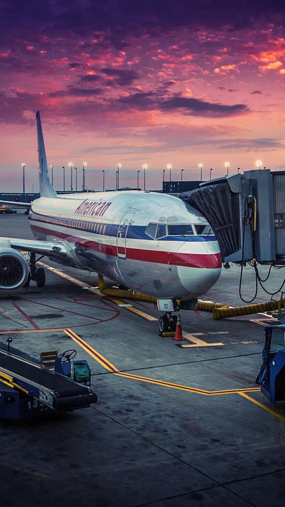 Airplane iPhone x wallpaper hd