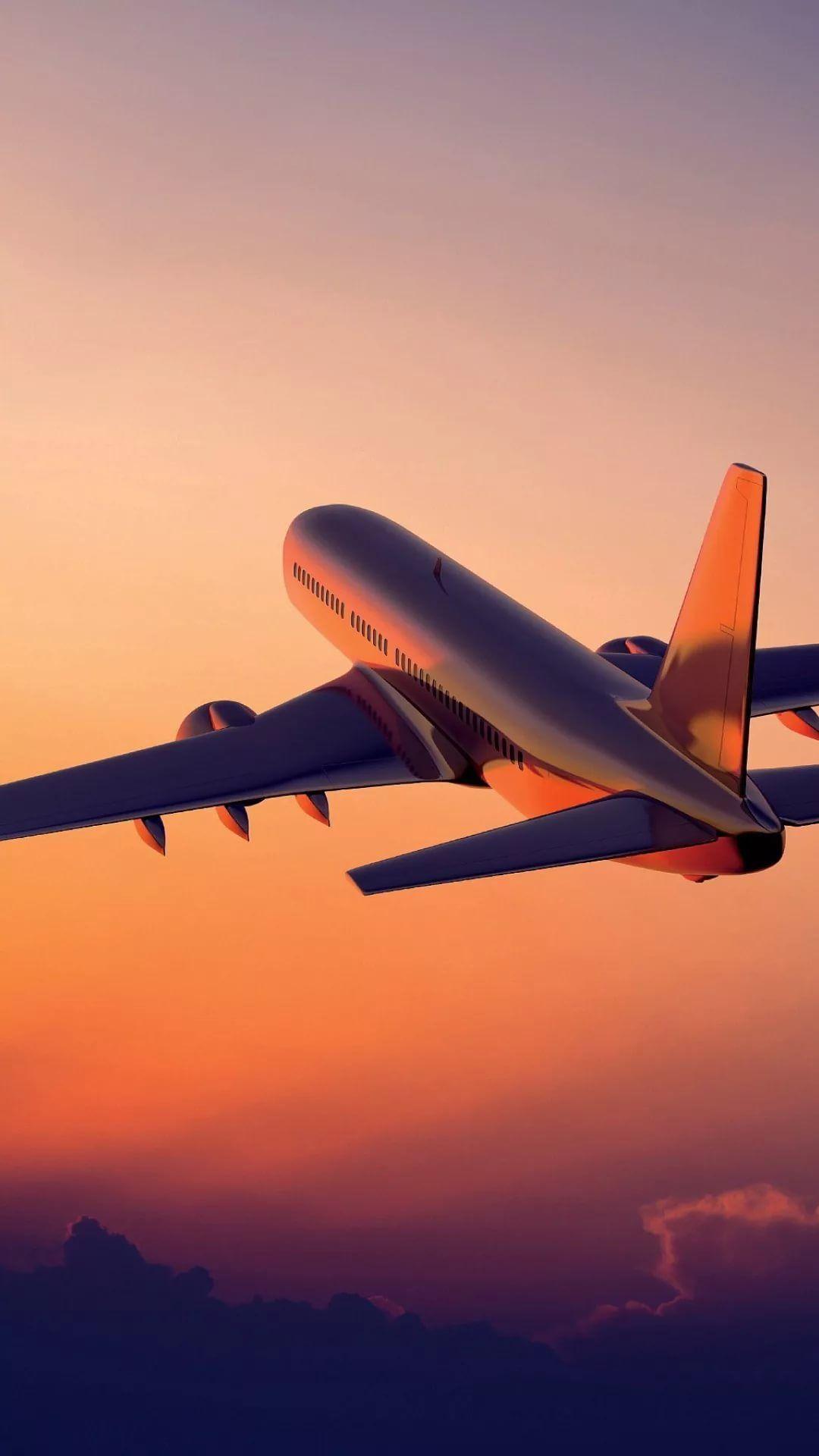Airplane Apple iPhone wallpaper