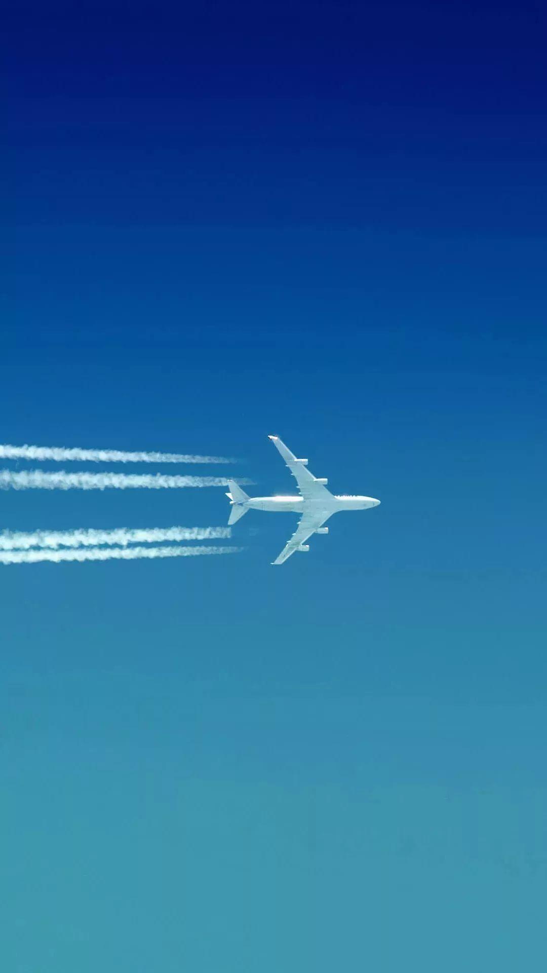 Airplane Apple wallpaper HD