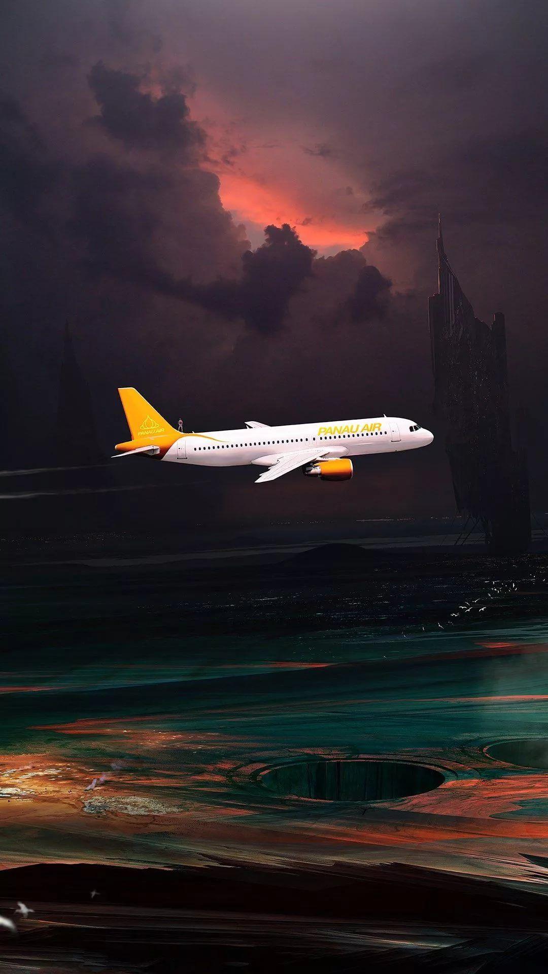 Airplane Samsung Galaxy wallpaper